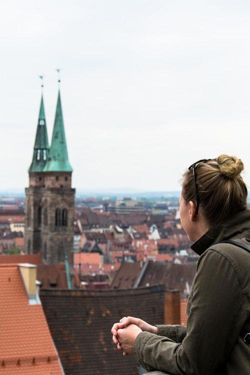 Nürnberg – Burg, Wanderer und vieles mehr